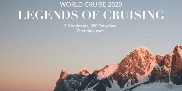 The First Cruise to Visit All Seven Continents